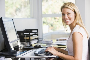 Customer---eTailer-female---bigstock-Woman-In-Home-Office-With-Comp-4137508-(1)