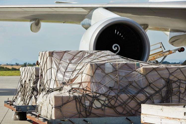 Cargo import airplane