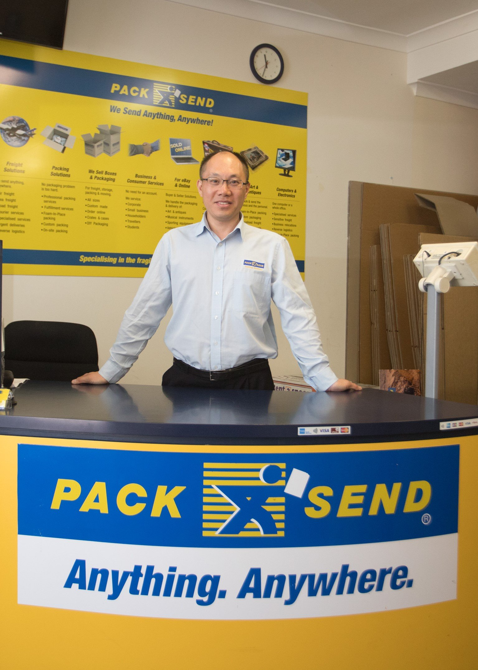 An interview with Hank Han of PACK & SEND Mascot