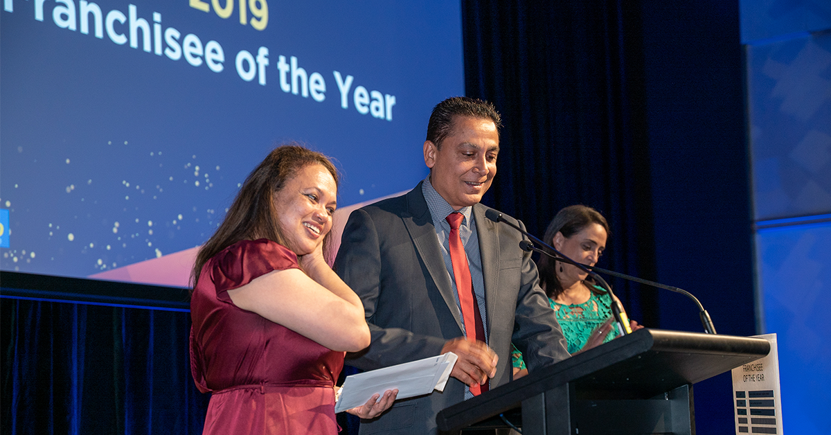 PACK & SEND Franchisee of The Year Awarded for 2019