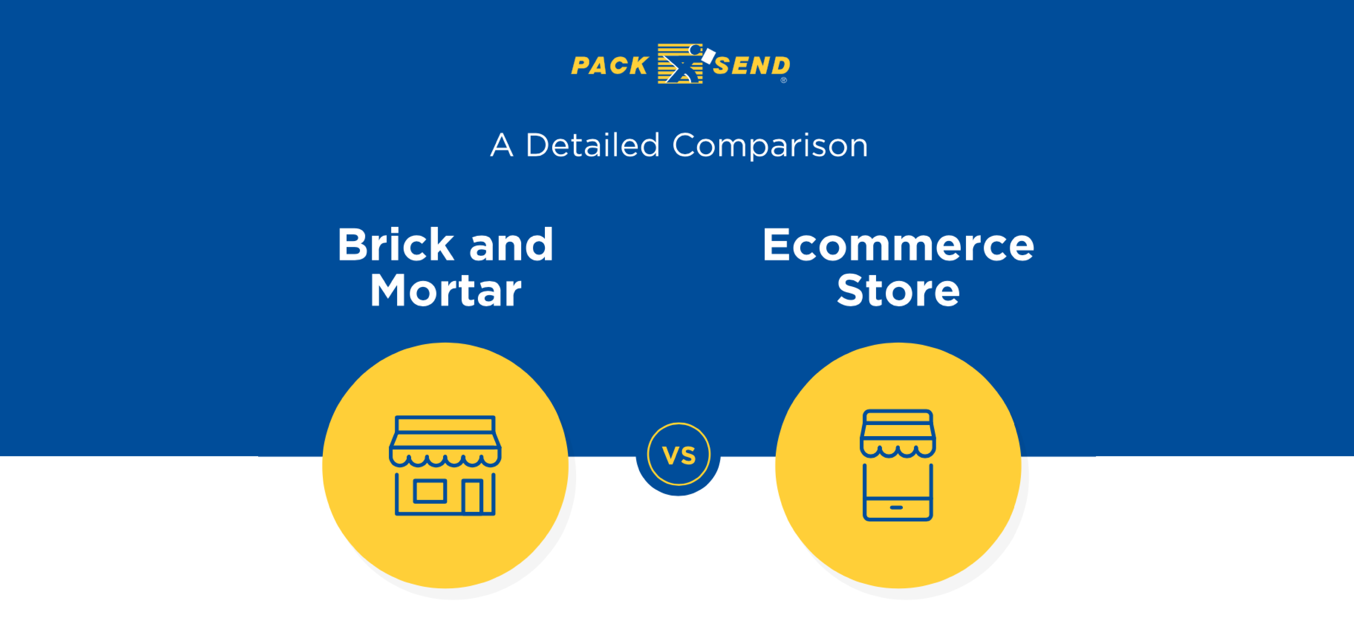 Brick and Mortar vs Ecommerce Stores - A Detailed Comparison