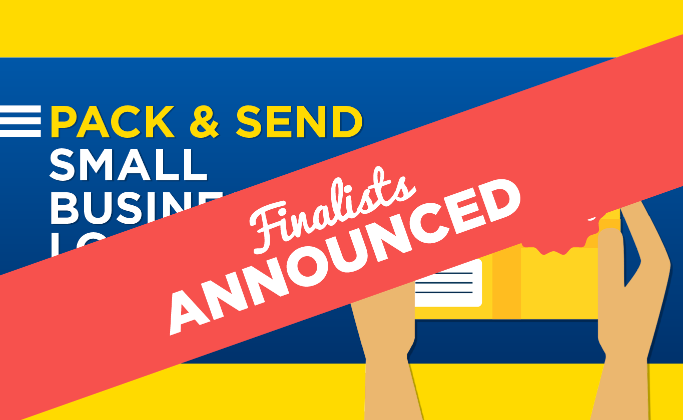 Finalists Announcement - PACK & SEND Small Business Grant