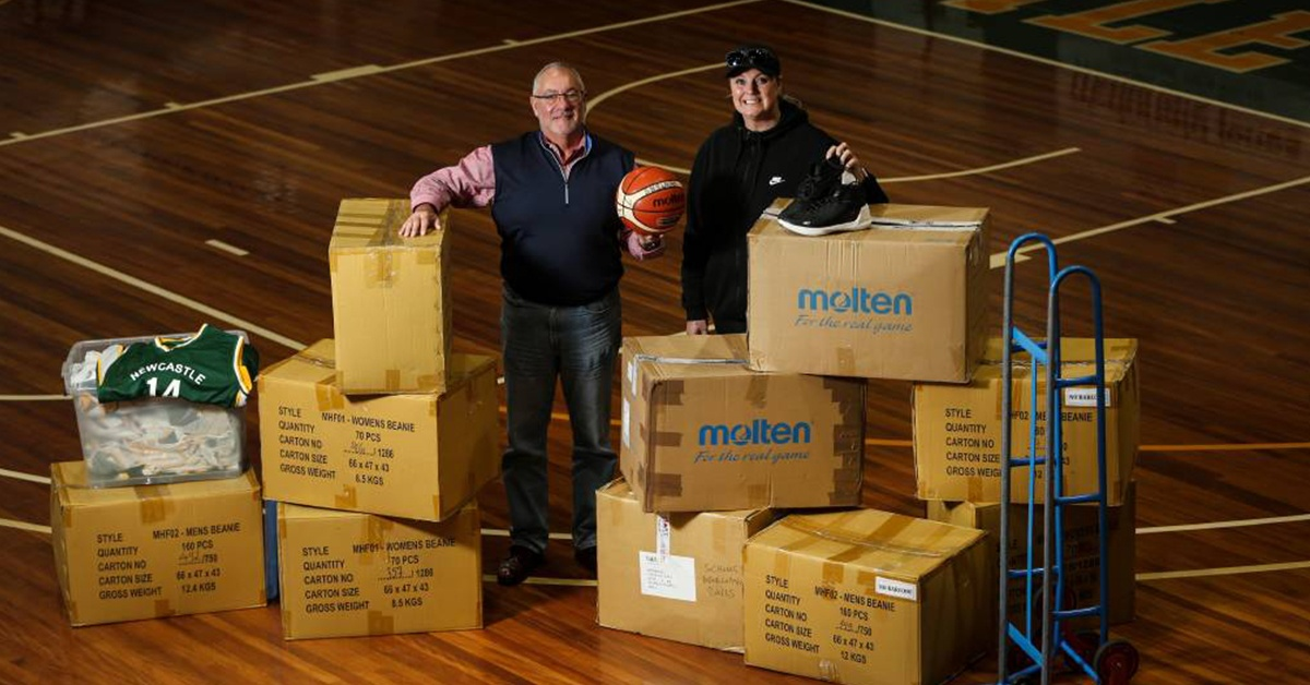 PACK & SEND helps 'Shooting Soles'